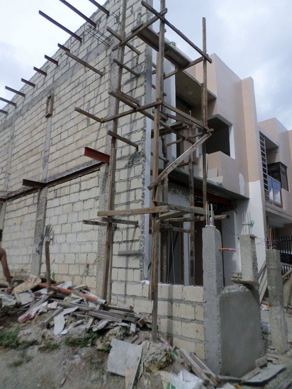ongoing residential construction in bohol by jeffrey jaccs