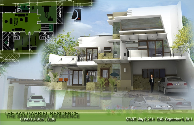Home Design Architects New Cebu Architects  Top Cebu Contractors Design Decoration